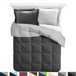 Comforter All Season Down Alternative Soft Reversible Light