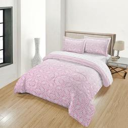 Comforter Mandala Pink Blush Paris Patterns Soft Washable Sp