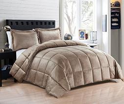 Hiyoko  Comforter Set Down-Alt Micromink Flannel, 90-Inch-by