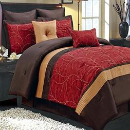 Comforter Set 6 Piece Single Bed Twin XL Luxury Complete Bed