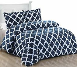 comforter set soft 2 pillow shams complete