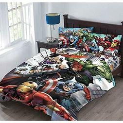Marvel Comforter Sets Avengers Agents Of SHIELD Full Fitted