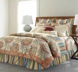 Chaps Coral Sand Queen 4pc Comforter Set Beach House New!
