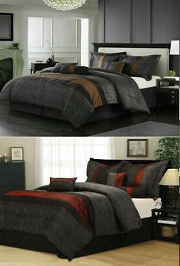 Nanshing Corell Comforter Set bed-in-a-bag 7-piece in TWO co