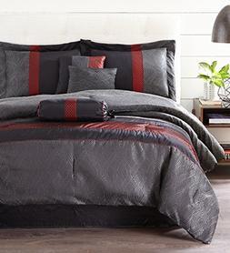 Nanshing CORELL7-F Corell 7Piece Comforter Set, of 4, Full