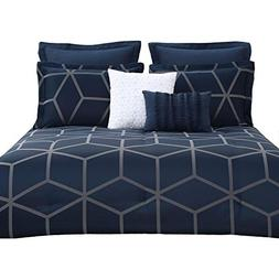 Chezmoi Collection Corvo 5 Pieces Modern Jacquard Geometric