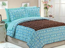 Dovedote Dovedote Cotton Daisy Dream Bedspread with Matching
