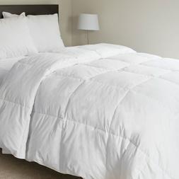 Lavish Home 100% Cotton Feather Down Bedding Comforter - Twi