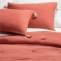 Opalhouse Cotton Gauze Comforter Set Queen