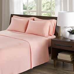 Comfort Spaces Cotton Jersey Knit Sheets Set - Ultra Soft Ki