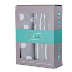 Crib Sheet Set | Toddler Sheet Set 2 Pack 100% Jersey Cotton