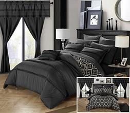 Chic Home CS0747-AN 20 Piece Adina Complete Bed Room In A Ba
