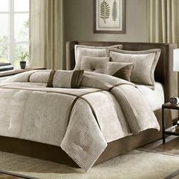 Madison Park MP10-313 Dallas Bed Comforter Set Bed in A Bag