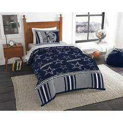 Dallas Cowboys NFL Twin Comforter Set Complete Kids Football