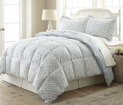 Dayton by Chezmoi Collection 2-pc Down Alternative Comforter