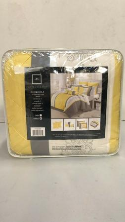 Chic Home Design 8-Piece Embroidery Comforter Set, Queen, Li