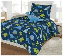 WPM Dinosaur BLUE print bedding set choose from Full/Twin co