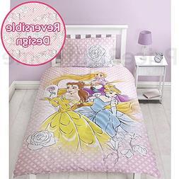 Disney Princess Magic 2 Piece UK Single/US Twin Sheet Set, 1