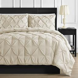 Double Needle Durable Stitching Comfy Bedding 3-piece Pinch