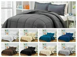 Hotel Collection Down Alternative Comforter Black Twin XL Co