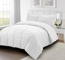 HIG 2pc Down Alternative Comforter Set - All Season Reversib