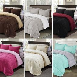 HIG Classic Down Alternative Comforter Set All Season Revers