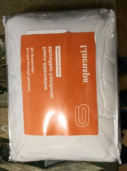 Linenspa Down Alternative Microfiber Comforter Oversized Que