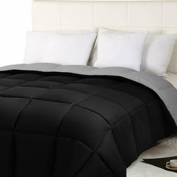 Comforter All Season Duvet Insert Down Alternative Reversibl