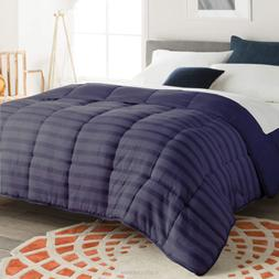Down Alternative Reversible Comforter Twin/Twin XL, Full/Que