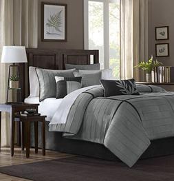 Madison Park Dune King Size Bed Comforter Set Bed In A Bag -