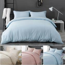Duvet Comforter Cover Set Pillowcase Pillow Case Brushed Mic
