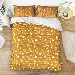 KAROLA Duvet Cover Set, King Bedding Sets Comforter cover wi