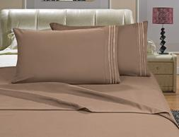 Elegant Comfort 4-Piece Egyptian Quality Bed Sheet Set with