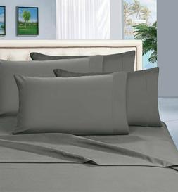 Egyptian Comfort 1800 Thread Count 4 Piece Bed Sheet Set Dee