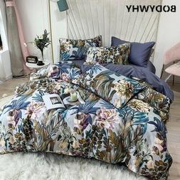 Egyptian cotton bedding set large extra large bed sheet quil