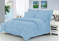Elegant Comfort Wrinkle Resistant - Silky Soft Dobby Stripe