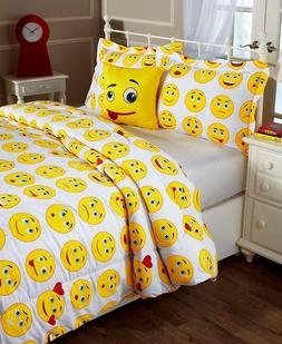 Emoticon Emoji Queen Sheet Set, Twin Or Full/Queen Comforter