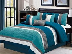 Empire Home 7 Piece Embossed Oversized Comforter Set 21181