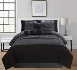 Empire Home 7PC Heba Comforter Set - Extra Soft - Oversized