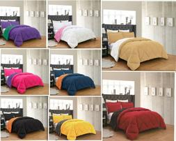 Empire Home Down Reversible Comforter And Pillow Shams 3-Pie