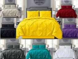 Empire Home Pintuck Hypoallergenic 4-Piece Comforter Set - B