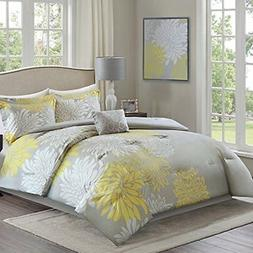 Comfort Spaces – Enya Comforter Set - 5 Piece – Yellow,