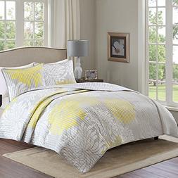 Comfort Spaces – Enya Quilt Mini Set - 3 Piece – Yellow