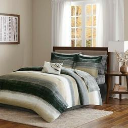 Madison Park Essentials Saben Full Size Bed Comforter Set Be