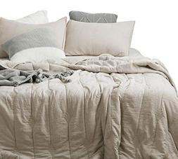 ANNA.Z HOME Ethan Comforter, Quilt, Stone Washed Microfiber