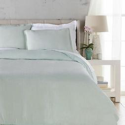 Surya EVY30-FQSET Evelyn  Piece Full - Queen Size Linen Soli