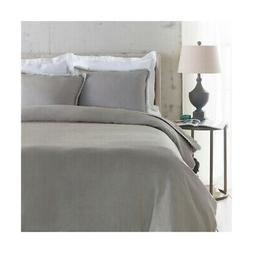 Surya EVY3003-FQSET Evelyn Grey Duvet Set, Full or Queen