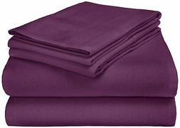 Extra-Warm Cotton Flannel Sheet Set