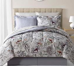 Fairfiled Square Collection 8 Piece Bed Essemble - Evelyn