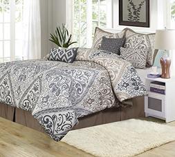 Nanshing Farren 7 Piece Queen Comforter Set